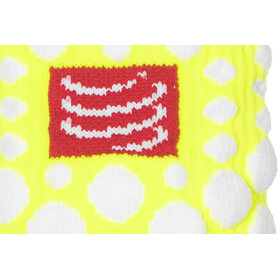 Compressport 3D Dots Sweatbands fluo yellow